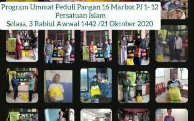 Distribusi Program Umat Peduli PZU KLP Batununggal